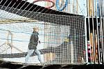 Mostecký Funpark s lanovým bludištěm a rozhlednou se v neděli 11. října otevřel naposledy v tomto roce.