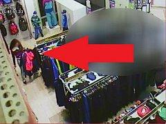 Zlodějka, záběr z videa.