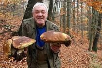 Vladimír Tuček z Litvínova našel tyhle parádní kousky