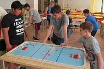 Billiard-hockey šprtec – Pohár 4.ZŠ Most a finále Mostecké NHL.