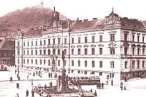 Budova soudu ve starém Mostě.