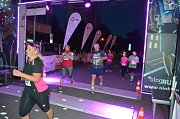 Běžecká show Night Run Most 2017.