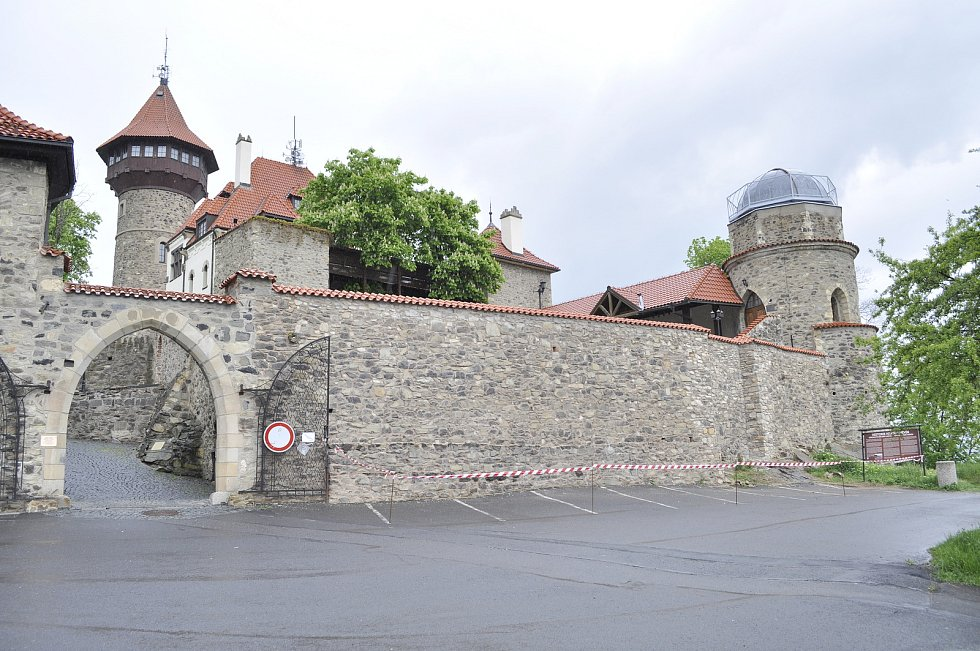 Mostecký hrad.
