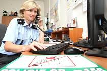 Šéfka mezibořských policistů Miluše Mojžíšová.