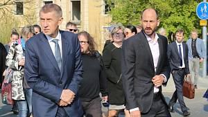 Předseda vlády ČR Andrej Babiš navštívil v úterý 9. dubna Most