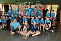 Badmintonisté Baníku Most absolvovali soustředění v Rumburku