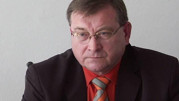 Senátor a zastupitel Mostu Vlastimil Balín.