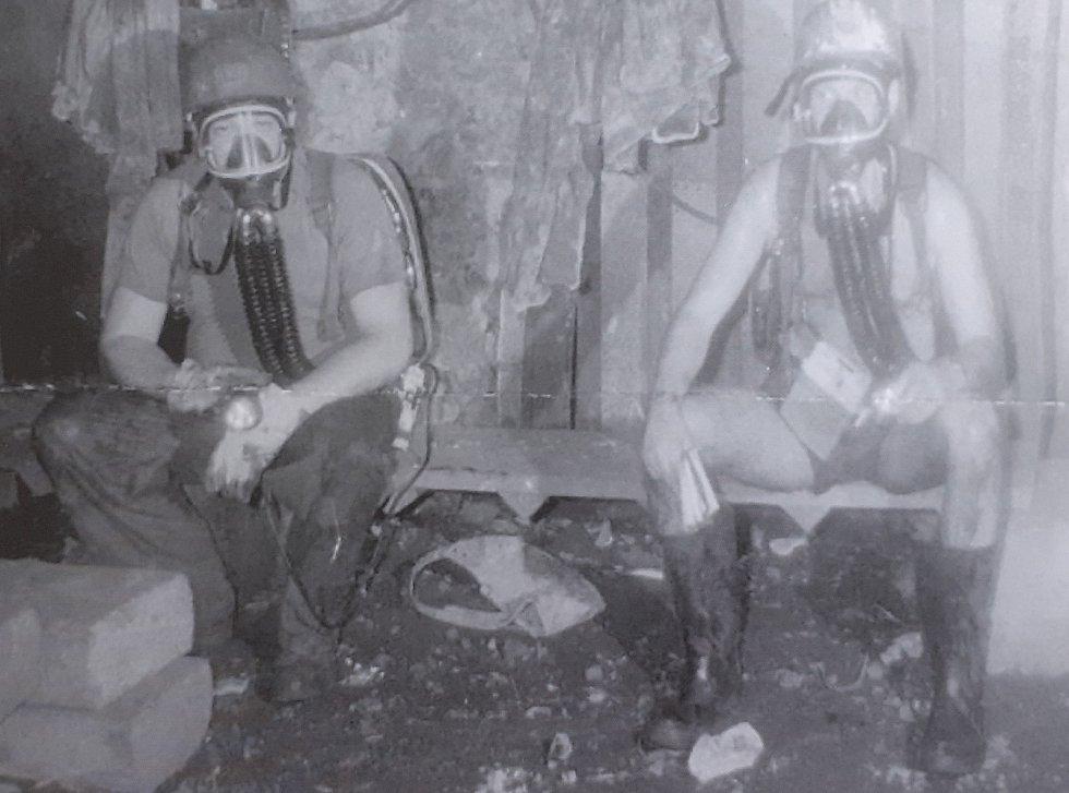 Důl Pluto u obce Louka u Litvínova.