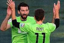 Zkušený mostecký hráč Martin Boček je hybnou silou svého výběru.