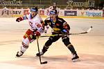 Litvínov hrál doma s Olomoucí.
