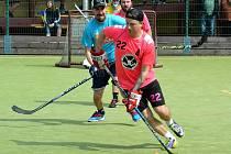 Turnaj v bandy hokeji v Litvínově.