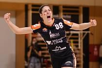 Dominika Zachová ve svém posledním zápase za Most.