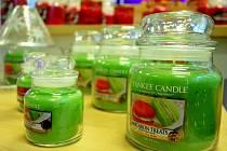Slavnostní otevření továrny Yankee Candle u Mostu.
