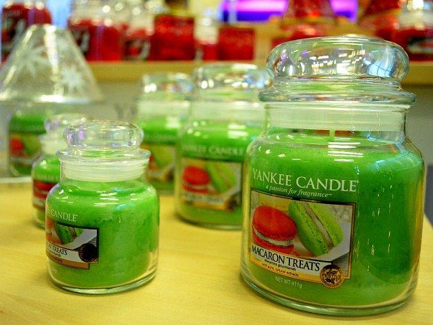 Slavnostní otevření továrny Yankee Candle uMostu.