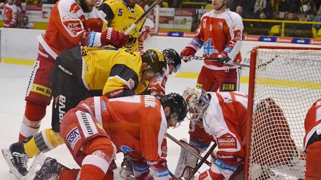 Litvínov doma hostil a nestačil na Olomouc.