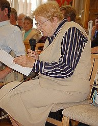 Ludmila Mozlová se bojí, že sloučení bude mít na klienty sociálních služeb špatný dopad. Svou obavu sdělila zastupitelům na jejich zasedání.