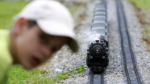 Model vlaku.
