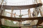 Mostecký Funpark na Šibeníku se během měsíčního provozu vylepšil. Největší změnou jsou upravené cesty.