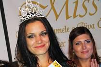 Kateřina Pastyříková z Mostu vyhrála soutěž Miss chrámu chmele a piva.