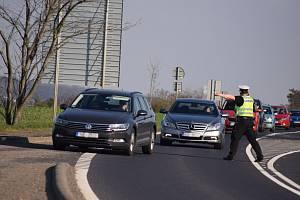 Při Speed Marathonu policisté měřili rychlost také mezi Mostem a Sedlecem.