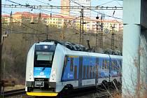 Vlak u Mostu.