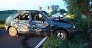 Řidič Felicie zemřel u Patokryjí po nárazu do stromu