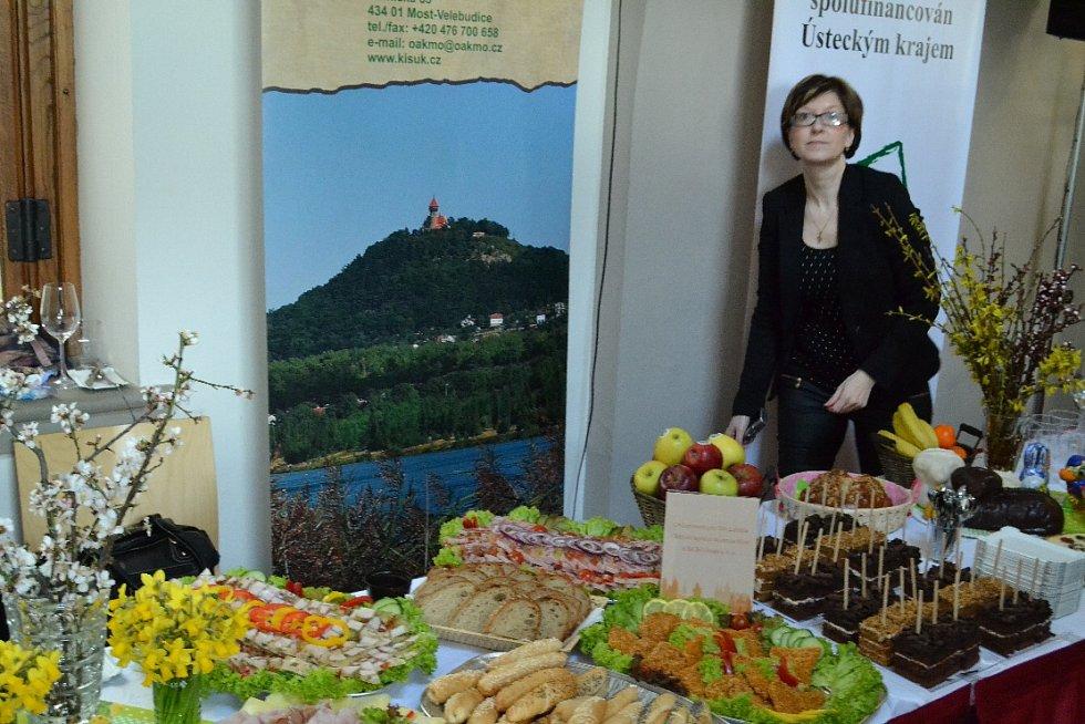 Raut, který uspořádala Okresní agrární komora. Výstavu podpořil Ústecký kraj.
