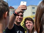 Setkání s youtubery v Mostě.