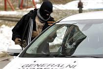 Vyšetřovatelé z GIBS vyšetřují napadení, které se odehrálo v Litvínově.