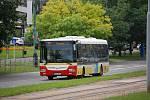 Autobusové spoje v mostecké MHD.