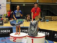 Anna Natálie Kohoutová (vpravo) ovládla Danish Junior Open.