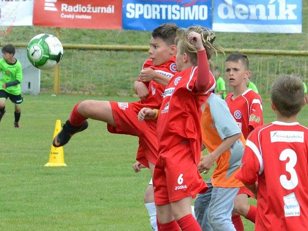 Krajské finále McDonald´s Cupu v Mostě.