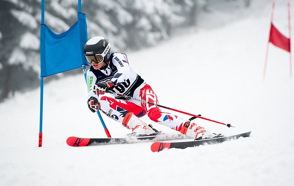 Talentovaný lyžař Marek Müller je šampionem.