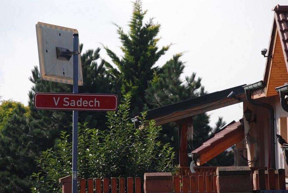 Ulice V Sadech, u které má stát Kaufland, probíhá zjišťovací řízení kvůli EIA.