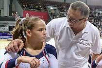 Mezi mladými nominovanými sportovci je i sportovní gymnastka Agáta Strýhalová.