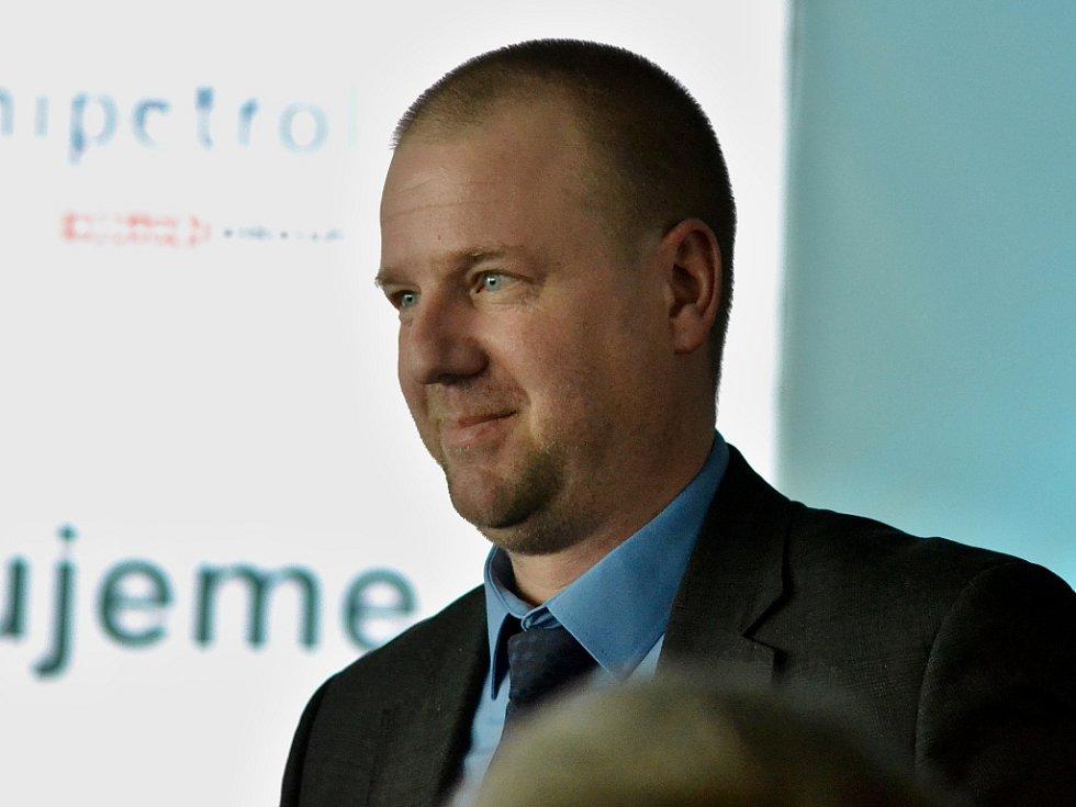Nově zvolený člen představenstva Unipetrolu Tomáš Herink z Litvínova, ředitel pro výzkum a vývoj.