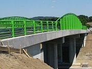 Most v Hradišti u Žatce prochází kompletní přestavbou.