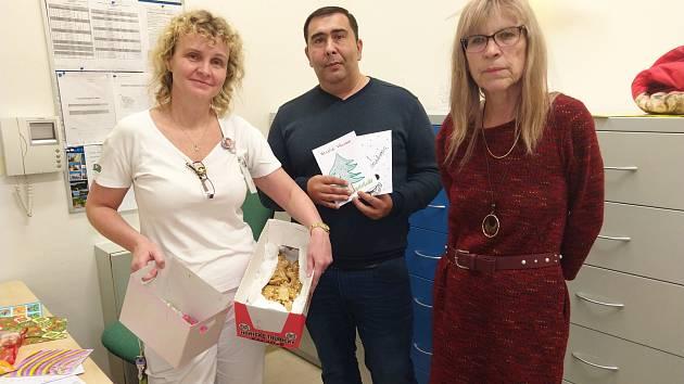 Žáci z janovské školy připravili dárečky pro děti v ústecké nemocnici
