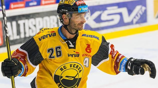 Litvínovský rekordman Viktor Hübl.