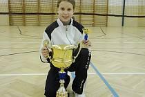 Badmintonistka Super Stars Most Lucie Paurová.