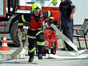 Klání hasičů v Brandově
