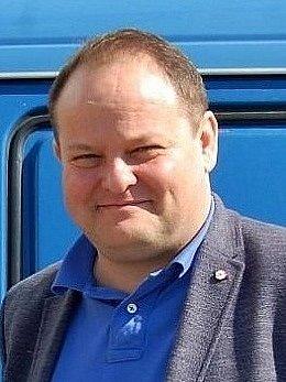 Ředitel Dopravního podniku měst Mostu a Litvínova Daniel Dunovský. Archivní foto