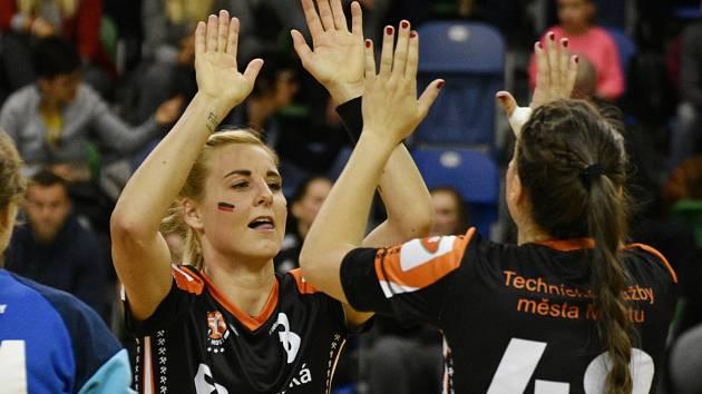Michaela Borovská se po dlouhé době vrátila do ostrých zápasů.