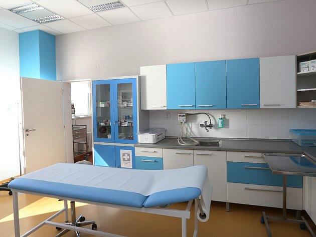 Nemocnice v Ústí nad Labem.