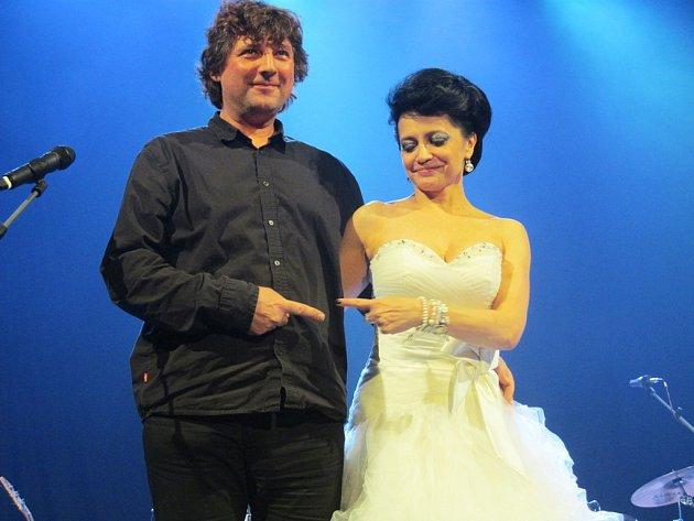 Lucie Bílá a Petr Malásek, hlavní host turné.
