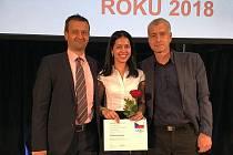 Martina Krocová byla oceněná Českým olympijským výborem.