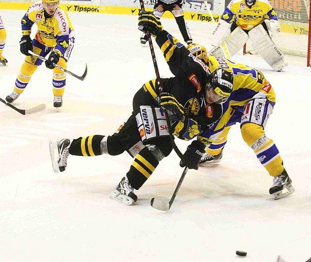 Hokejisté Litvínova podlehli Zlínu