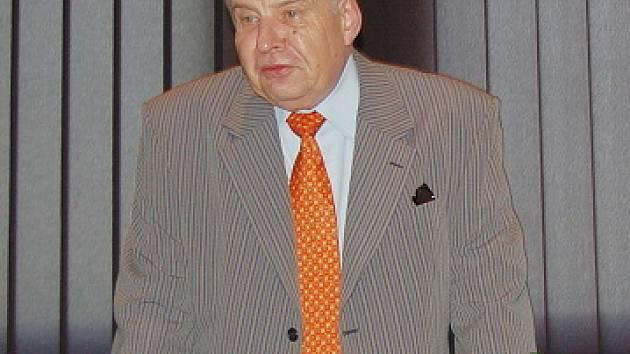 Výkonný ředitel Chemopetrolu Miroslav Krejčí.