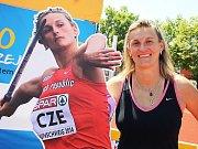 Bára Špotáková bude vyprávět o životě špičkového sportovce v Mostě.