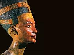 Jeden z exponátů chystané výstavy, Nefertiti, staroegyptská královna.